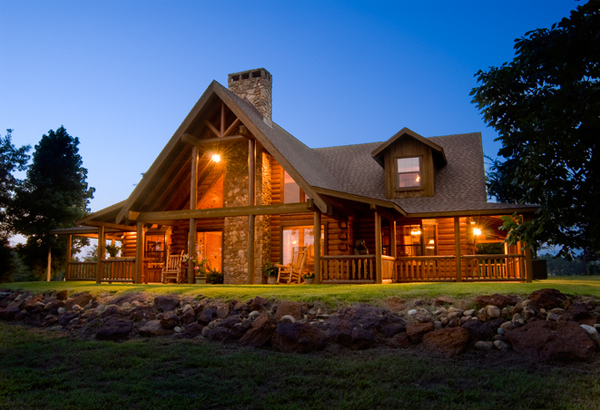 Satterwhite Log Homes Exterior