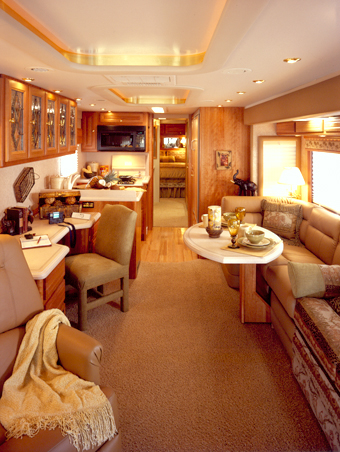 Foretravel Motor Coach Interior
